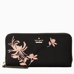 Kate Spade Embroidered Neda Wallet ❤️
